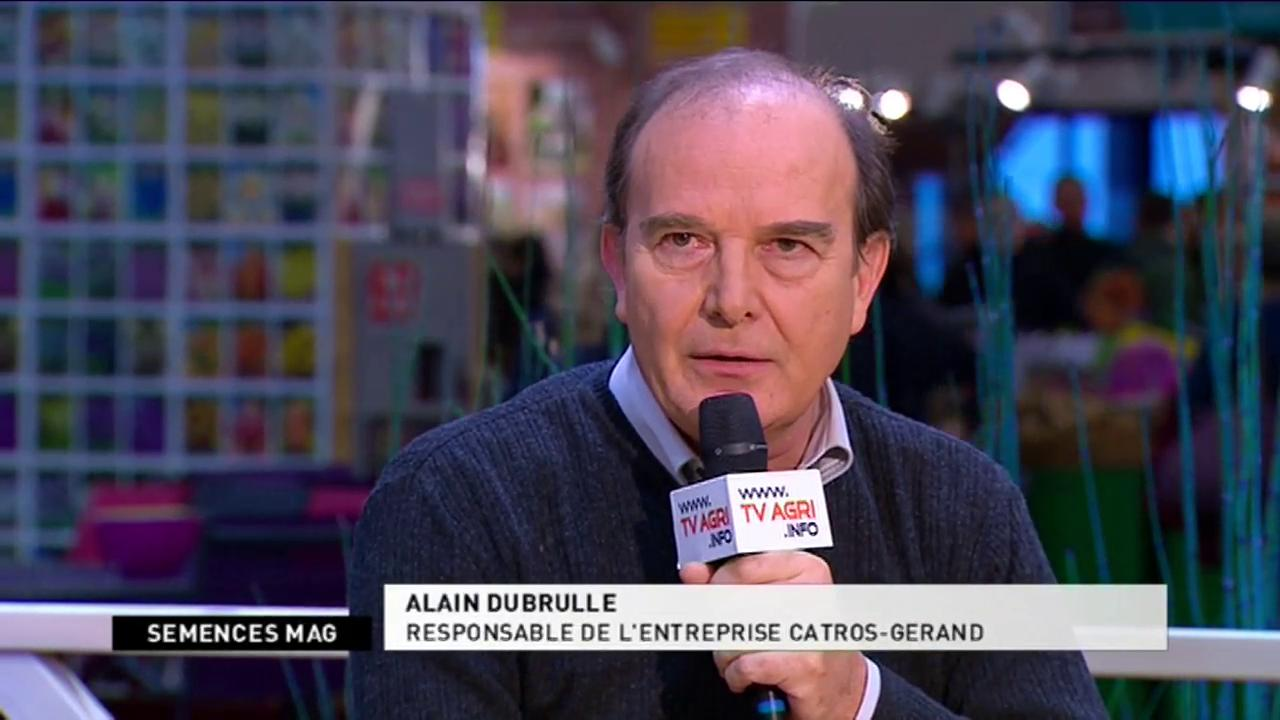 Alain Dubrulle (Responsable entreprise Catros-G�rand) - Dominique Daviot (Responsable de la section potag�re du Gnis) (dur�e : 7:17)