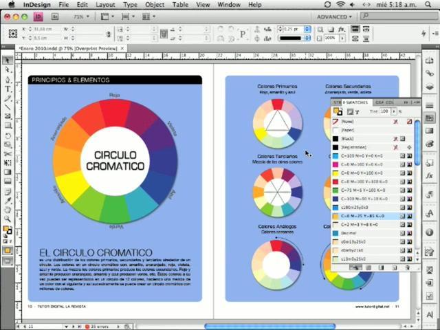 InDesign - Solucion texto en 4 colores, preparar para imprenta