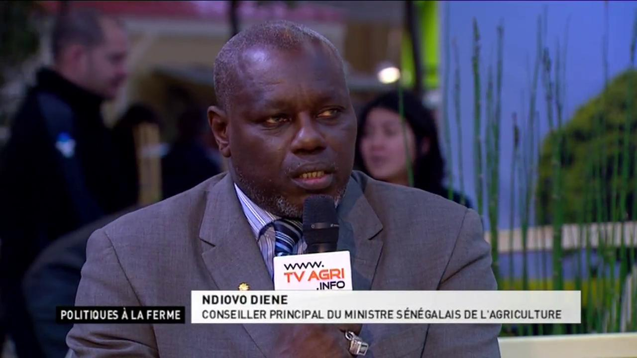 Invits : Ndiovo Diene, Ministre sngalais de l&#39;agriculture ; Michle Grosset, secrtaire gnral de l&#39;ADEPTA (dure : 11:34)