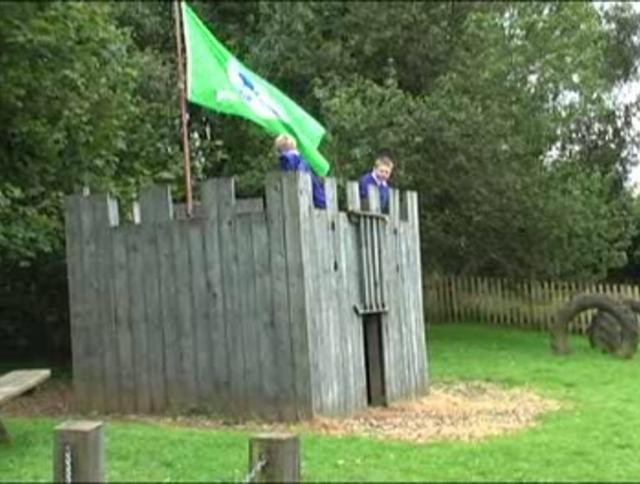 The Green Flag at Kentisbury School