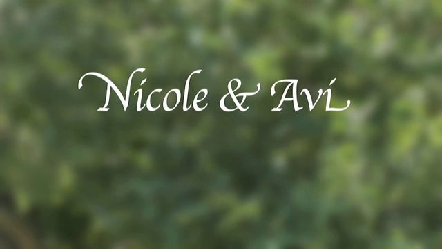 Nicole & Avi's Wedding Highlights
