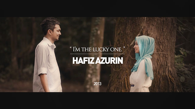 I'm the Lucky One - HAFIZ & AZURIN (SAVE THE DATE)