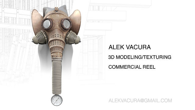 3D Modeling/Texturing Commercial Reel