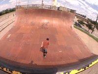 Paul Zitzer : Roger Skateboards Token Older Vert Skater