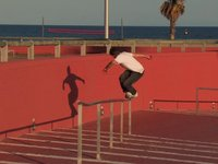5 October days in Barcelona featuring, Si Coburn, Ollie Jones, Adam Galwas, Myself and R Kelly!    www.slaptap.com  www.collectiveskate.tumblr.com