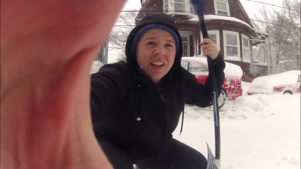 I Wish I Could Fast Forward When Shoveling (Time Lapse Edition)