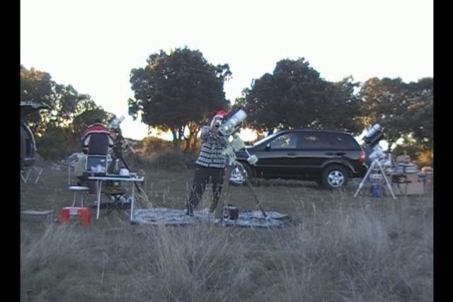 Astrofotografía en Las Inviernas (I) 22dic2008