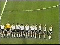 world youth 87 final yugoslavia v germany FR 25 OCT 1987 anthems
