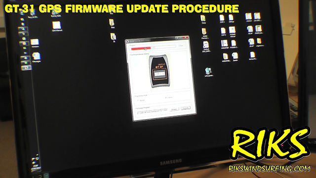 GT-31 GPS Firmware Upgrade Instructions