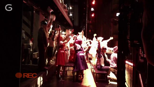 Chorus Cam: No 4 Curtain up