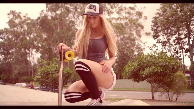 Emily - At The Skatepark II