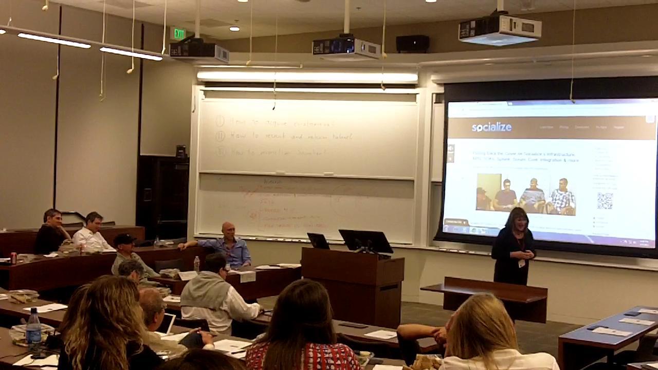 Part 2-Heidi Roien at Stanford GSB Event