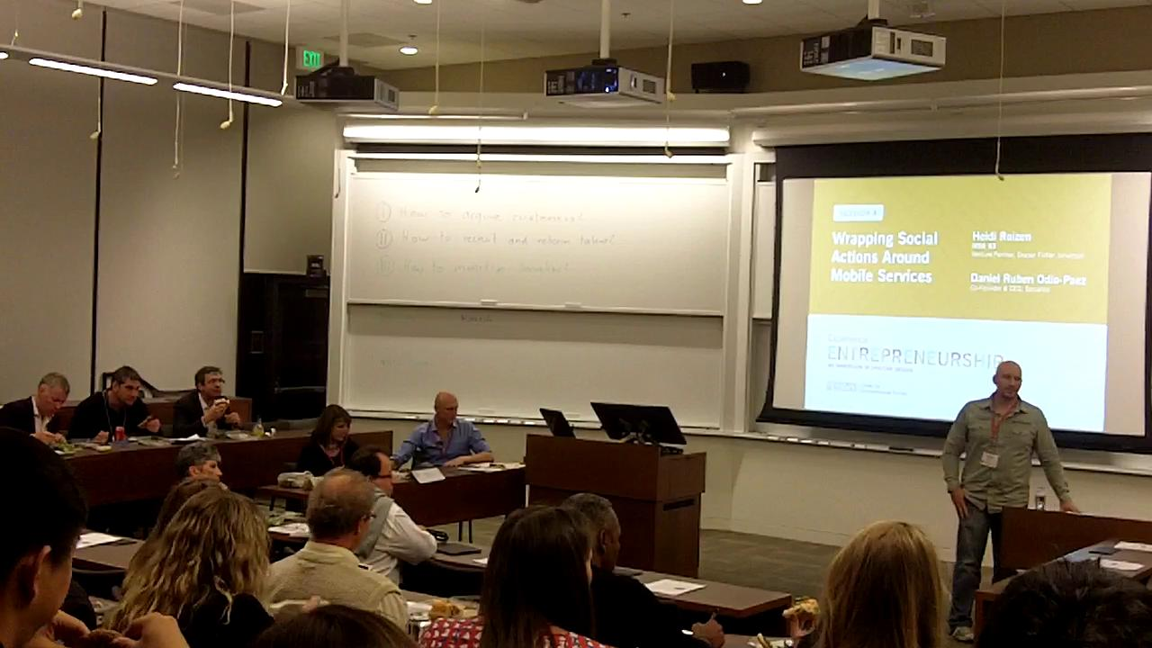 Part 1-Daniel Odio at Stanford GSB Event