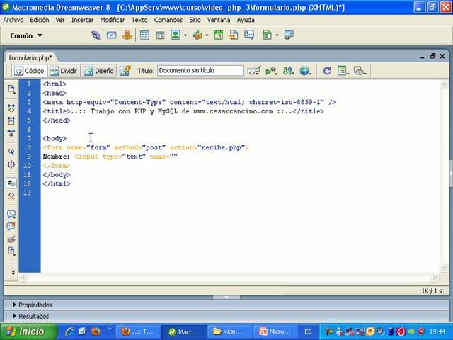 PHP - Trabajo con estructuras condicionales y sentencias If Else y Switch case