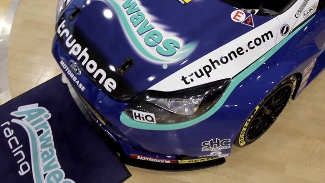 Motorbase: Airwaves Racing Team Launch 2013