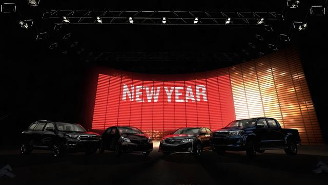 Toyota New Year