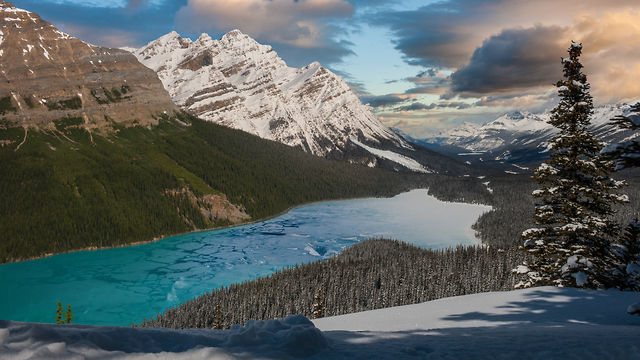 Mountains in Motion: The Canadian Rockies