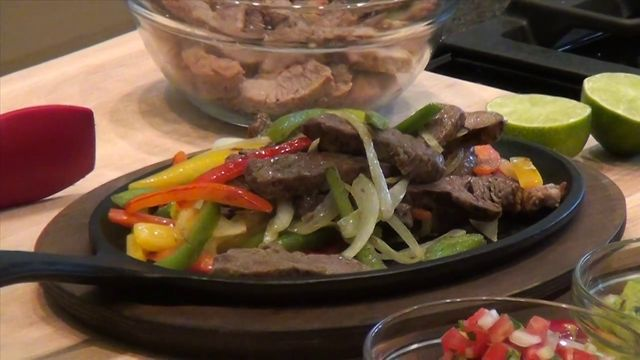 Beef Fajita Tacos Recipe on Vimeo