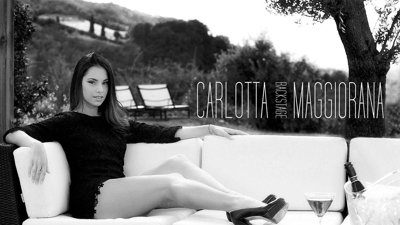 Carlotta Maggiorana Backstage