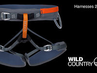 James Pearson demos the 2013 Wild Country Blaze Harness