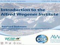 BDiekmann- Introduction to the Alfred Wegener Institute.video