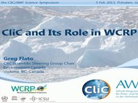 GFlato- CliC and Its Role in WCRP.video