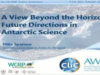 MSparrow- A View Beyond the Horizon: Future Directions in Antarctic Science.video