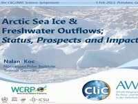 NKoc- Arctic Sea Ice &  Freshwater Outflows; Status, Prospects and Impact.video