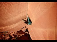 Steph Davis climbs a 'Forgotten Line' - Awesome Sandstone Crack