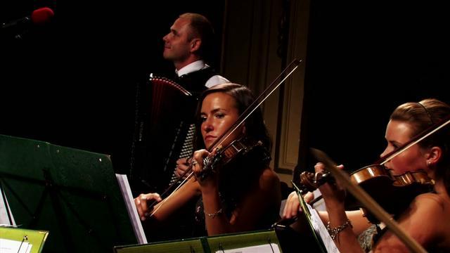 """Libertango - Marcin Wyrostek & Zenska Orkiestra Salonowa KWK """"STASZIC"""" HD"""