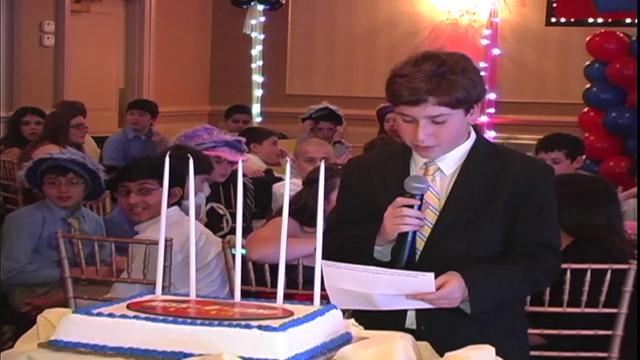 Ness's Bar Mitzvah Video