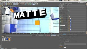 How to use Matte Object in CINEMA 4D