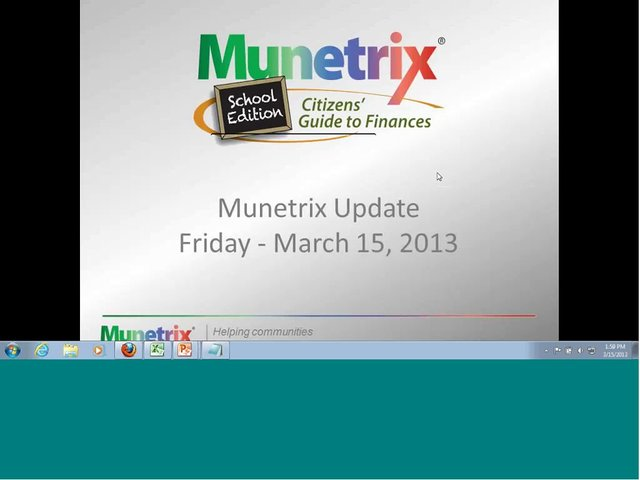 New Features Update - School Edition recorded webinar on March 15, 2013