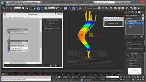 Convert Particles to Splines in 3ds Max