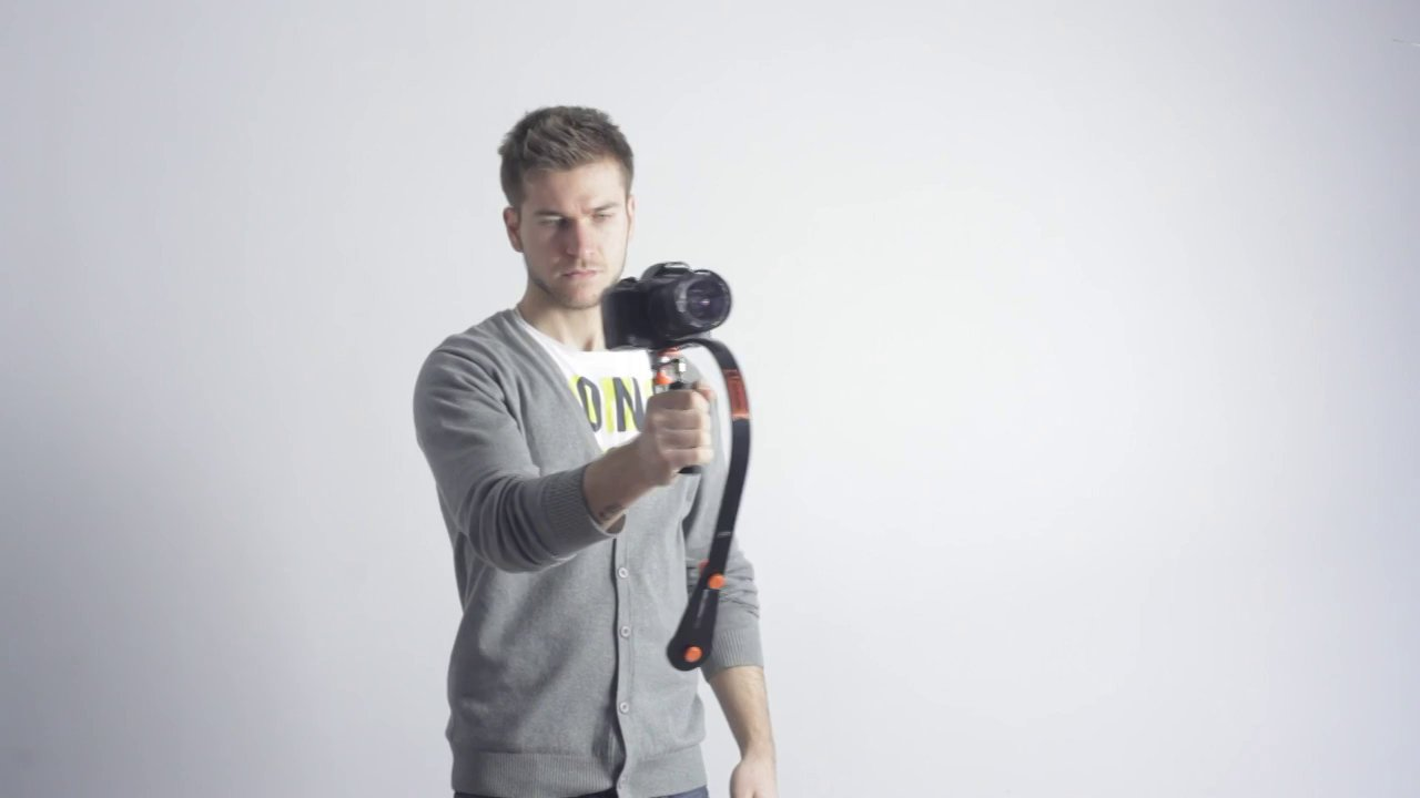 Lensse UNIQUEX Camera Stabilizer Setup