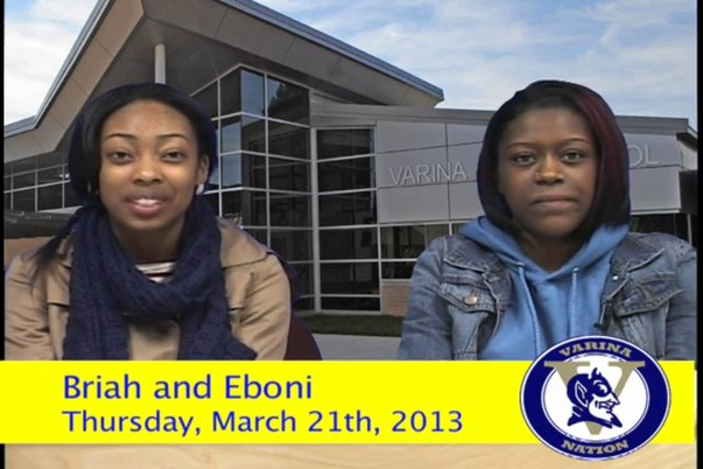 Thursday, March 21st, 2013