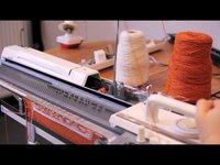 Knitic - open source knitting machine (Demo)