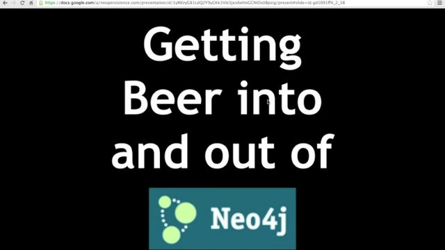 0321 - Getting beer in and out of Neo4j