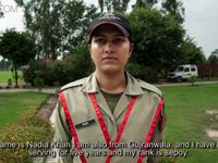 Pakistan's female Rangers: Life on the base
