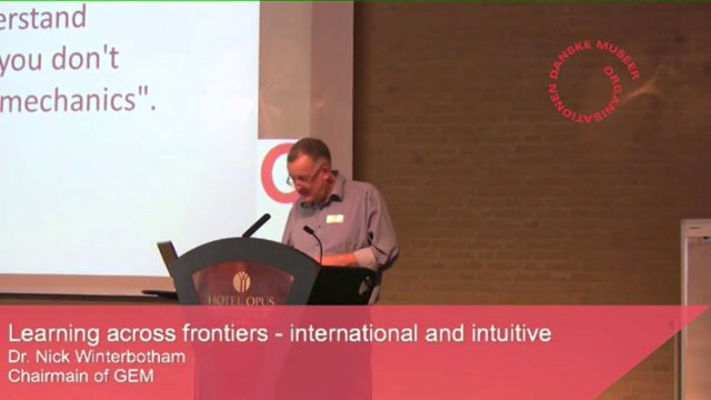 Dr. Nick Winterbotham: Learning across frontiers