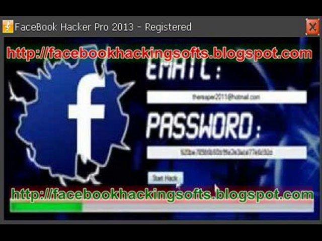 FaceBook Hacker Pro 2013 Hack Any Facebook Pword Just In Seconds