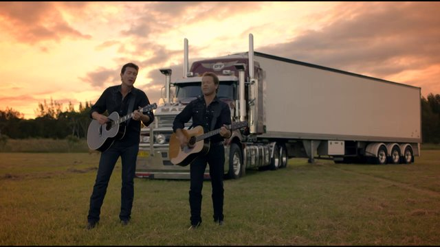 Lights On The Hill  - Adam Harvey & Troy Cassar-Daley