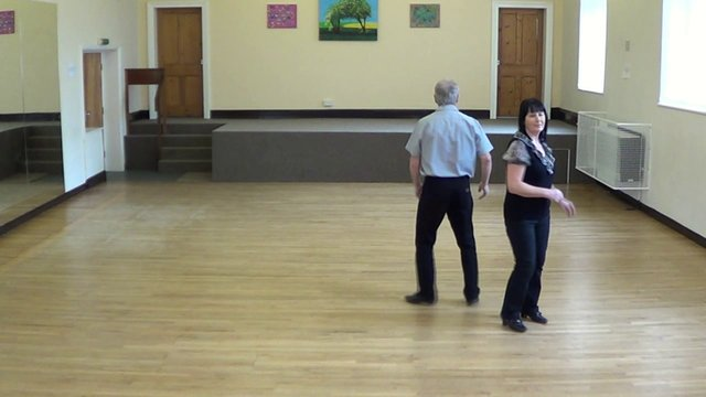 CHARLESTON BUMP  ( Western Partner Dance )