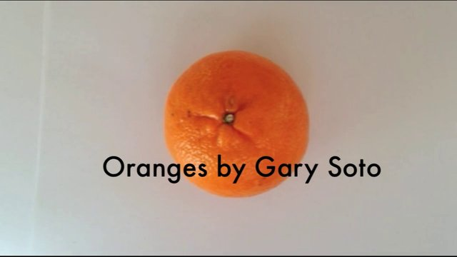 oranges by gary soto film by ambre bourdier. Black Bedroom Furniture Sets. Home Design Ideas