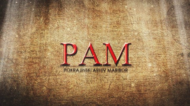 PAM - Pokrajinski arhiv Maribor (trailer)