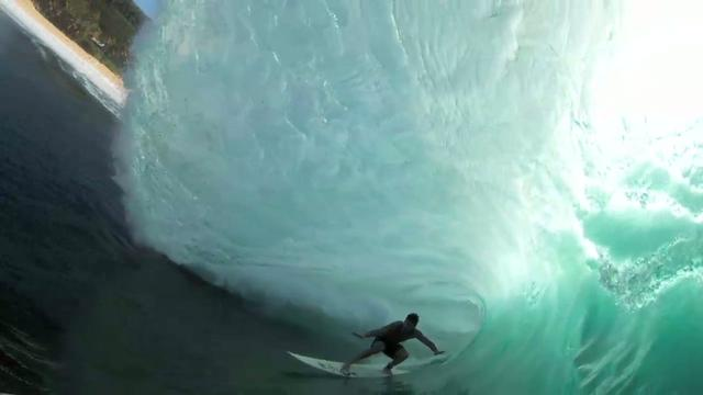 Sion Milosky Biggest Wave Ever Paddled into