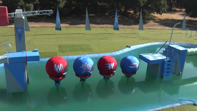 "ABC's ""Wipeout"" TV show - Aerial Clip 2"