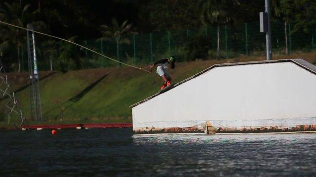 Kim Yong Il in Phuket Wake Park #02
