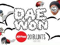 Almost 20 Blunt flips, Daewon Song