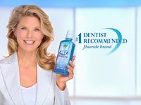 Act Mouth Wash with Christie Brinkley